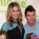 Rebecca Romijn at the grand opening party for WeVillage in LA