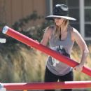 Kaley Cuoco – Seen At Equestrian Center In Los Angeles - 454 x 641