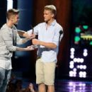 Justin Bieber speaks onstage at the 2014 Young Hollywood Awards at The Wiltern on July 27, 2014 in Los Angeles