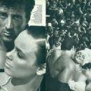 Brigitte Nielsen, Sylvester Stallone - Vanity Fair Magazine Pictorial [United States] (November 1985) - 454 x 327