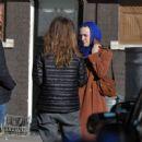 Dakota Fanning – Filming 'Sweetness in the Belly' in Dublin - 454 x 359