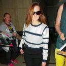 Emma Watson At Lax Airport In La