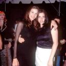 Liv Tyler and Mia Tyler At The MTV Video Music Awards 1995