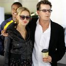 Charlie Sheen and Natalie Kenly - 350 x 597
