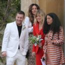James Jagger and Anoushka Sharma Wedding - 23 April 2016