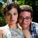 Jenny Slate and Gabe Liedman in Obvious Child Publicity