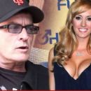 Brett Rossi and Charlie Sheen - 454 x 259