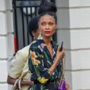 Thandie Newton – 2018 Wimbledon Tennis Championships in London