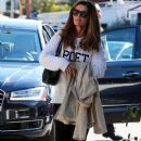 Maria Shriver spends time out and about in Brentwood, California on January 08, 2016 - 384 x 600