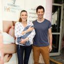 Katia Zygouli and Sakis Rouvas- baby No. 4 first look
