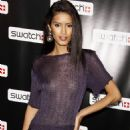 Jaslene Gonzalez - Swatch CreArt Collection Launch Party On July 15, 2009 In New York City