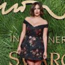 Caroline Flack –2017 Fashion Awards in London - 454 x 734