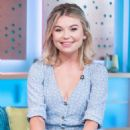 Georgia Toffolo on 'Sunday Brunch' TV Show in London - 454 x 712