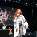 Bella Thorne – Performs at Billboard Hot 100 Music Festival Day Two in NYC
