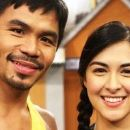 Manny Pacquiao and Marian Rivera