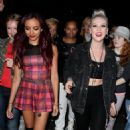 Little Mix Leave Capitol Radio Studios Pix - 454 x 734