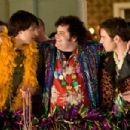 (l to r) Nicholas D'Agosto, Josh Gad and Bret Harrison star in Screen Gems' comedy MAX'S MARDI GRAS. Photo By: Peter 'Hopper' Stone - 454 x 303