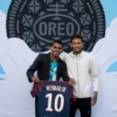 Neymar Shows Off a New Type of OREO Cookie Dunk for the Winners of the OREO Dunk Challenge Sweepstakes