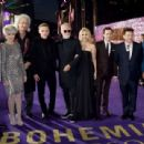 Genevieve Potgieter and other celebrities attend the World Premiere of 'Bohemian Rhapsody' at The SSE Arena, Wembley, on October 23, 2018 in London, England - 454 x 309