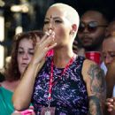 Amber Rose and Beyonce at the Made in America Music Festival in Philadelphia, Pennsylvania - September 1, 2013 - 454 x 474