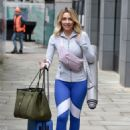 Gemma Merna – Arriving at a Yoga Class in Manchester - 454 x 627