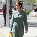 Brooke Burke leaves a salon in Beverly Hills, California on April 25, 2016