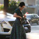 Dita Von Teese – Hits up a nail salon in Los Feliz