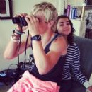 Maia Mitchell and Ross Lynch - 454 x 454