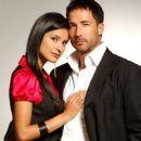 Paola Rey and Juan Carlos Vargas