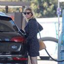 Kirsten Dunstin Short Dress out in Los Angeles