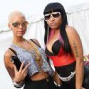 Amber Rose and Nicki Minaj Backstage at The America's Most Wanted Tour in Scranton, Pennsylvania - July 28, 2009 - 281 x 211