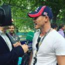 Luke Evans- July 3, 2016- Visa London ePrix