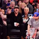 Amber Rose and Val Chmerkovksiy at The Knicks Game at Madison Square Garden in New York City - January 16, 2017  - December 9, 2016 - 454 x 508