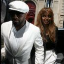 Janet Jackson Arrives - Rodin Museum For Dior Fashion Show Winter 2008 2008-06-30