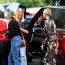 Hailey Bieber in a Stylish Jumpsuit – Night out in Santa Monica