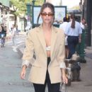 Emily Ratajkowski – Seen out and about in NY