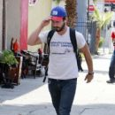 Shia LaBeouf was spotted heading to his local gym today, August 10, in Los Angeles