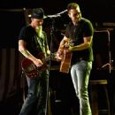 Singer/Songwriter Eric Church opens the new Ascend Amphitheater with the first of two sold out solo shows on July 30, 2015 in Nashville, Tennessee - 454 x 570