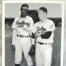 Satchel Paige & Bob Feller 1948