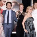 Emilia Clarke, Sam Claflin, Thea Sharrock, Jojo Moyes and Janet McTeer - May 23, 2016- 'Me Before You' World Premiere