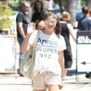 Selma Blair in Shorts out in Los Angeles - 454 x 841