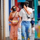 Kaia Gerber and Jacob Elordi – Out for lunch in New York City