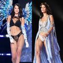 Bella Hadid Sizzles In Sexy Black Lingerie & More At VS Fashion Show