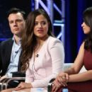 Melonie Diaz – 'Charmed' Panel at 2018 TCA Summer Press Tour in Los Angeles - 454 x 326