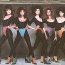 80s supermodels Paulina Porizkova, Renee Simonsen, Carol Alt, Nancy DeWeir and Joan Severance, 1983 - 454 x 351