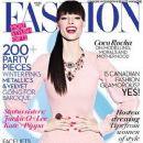 Coco Rocha: Winter 2013 issue of Fashion magazine