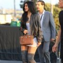 Kylie Jenner spotted at Kanye West's 'Famous' visual premiere at the LA Forum in Los Angeles, California on June 24, 2016
