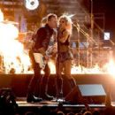 Lady Gaga and Metallica At The 59th Annual Grammy Awards (2017) - 454 x 304