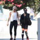 Vanessa Hudgens in Spandex heading to the gym in LA - 454 x 545