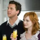 Hayes MacArthur and Christina Hendricks